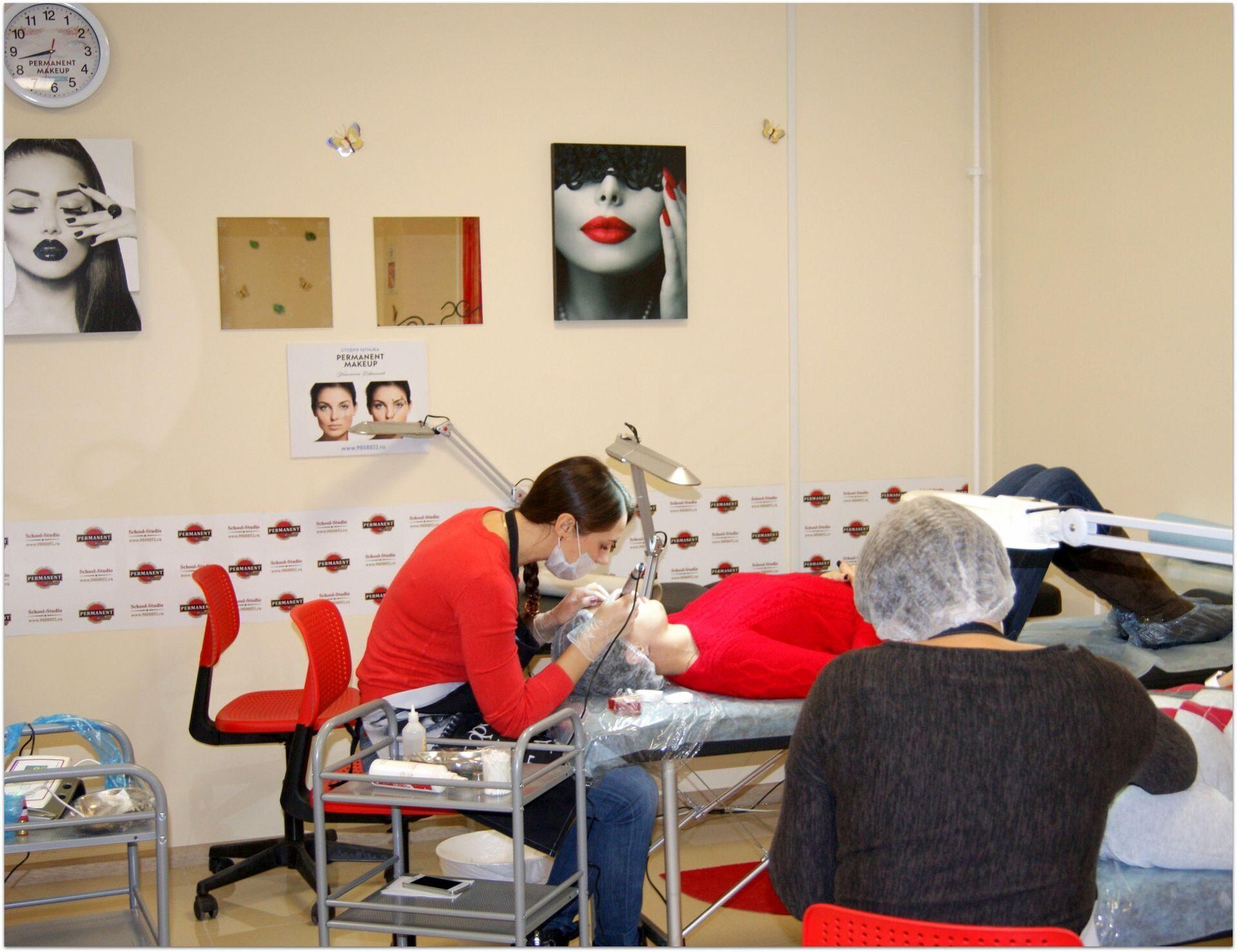 Учебные центры по перманентному макияжу