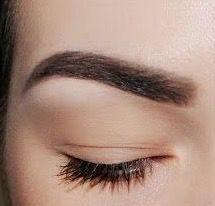 Техника пудровые брови